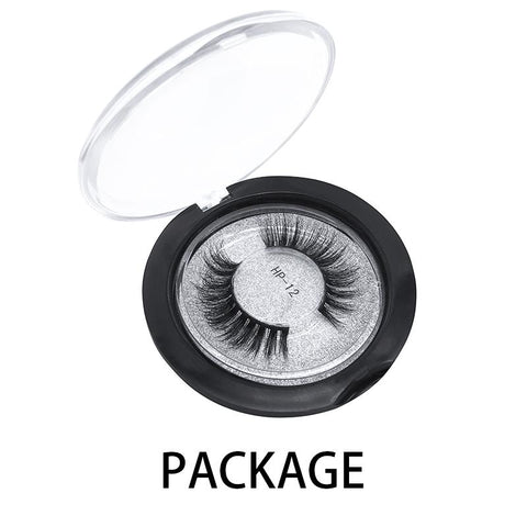 Mink False Lashes HP-12