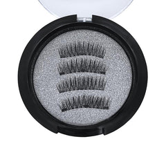 3 Magnets 3D Magnetic False Eyelashes With Quantum Lash Curler 24P-3