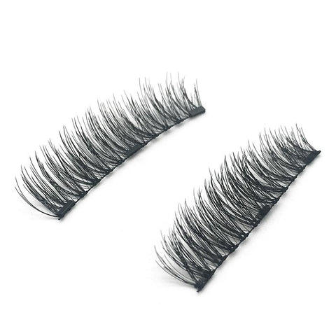 3 Magnets 3D Magnetic False Eyelashes With Quantum Lash Curler KS01-3