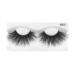 25mm Real Mink False Eyelashes ME01