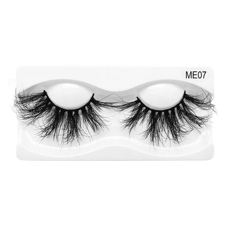 25mm Real Mink False Eyelashes ME07