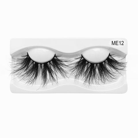 25mm Real Mink False Eyelashes ME12