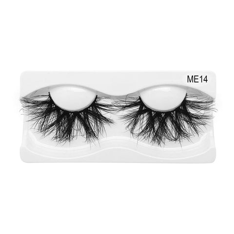 25mm Real Mink False Eyelashes ME14