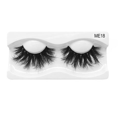 25mm Real Mink False Eyelashes ME18