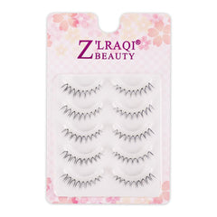 Multipack Naturals False Lashes with Invisiband, 5 Pairs W-06