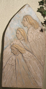 Angels Long to Look Plaque