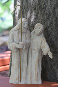 Nativity Shepherd Pair