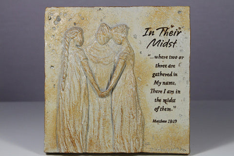 In Their Midst Plaque