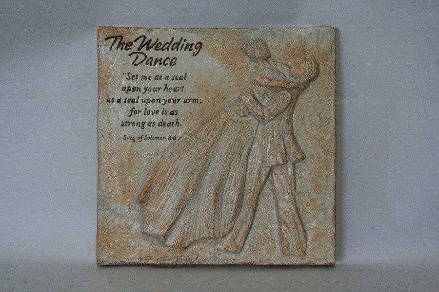 The Wedding Dance Plaque