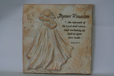 Joyous Reunion Plaque