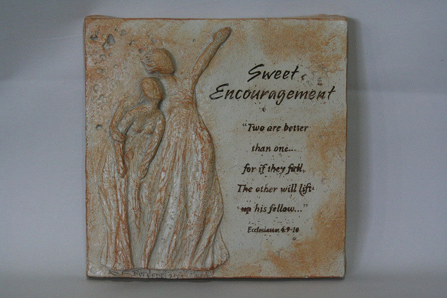 Sweet Encouragement Plaque