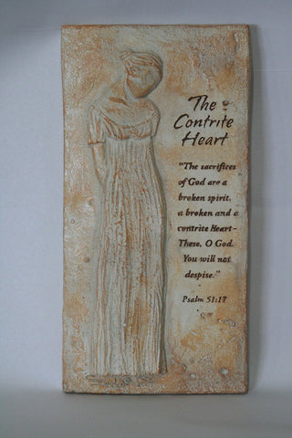 Contrite Heart Plaque