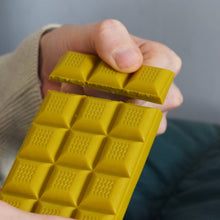 Load image into Gallery viewer, White Chocolate Turmeric Bar by Ethicoco