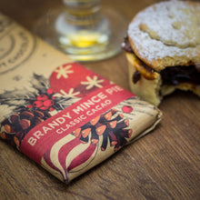 Load image into Gallery viewer, Vegan Milk Chocolate Brandy Mince Pie Edition