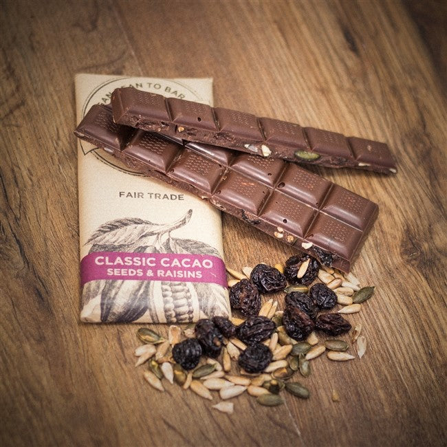 Classic Cacao with Raisins and Toasted Seeds