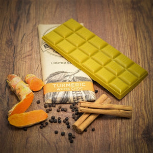 Turmeric White Chocolate Bar