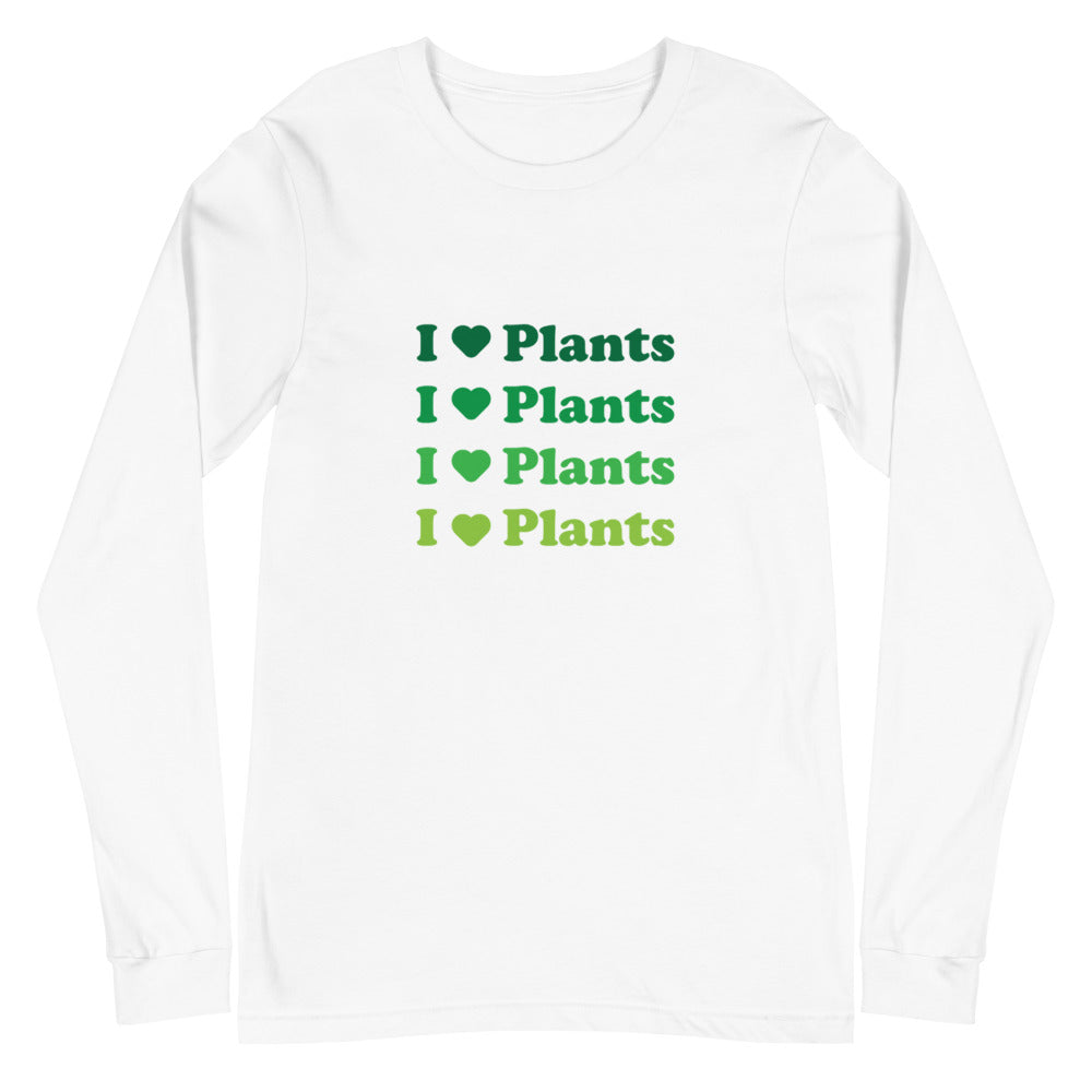 I Love Plants Women's Long Sleeve Tee
