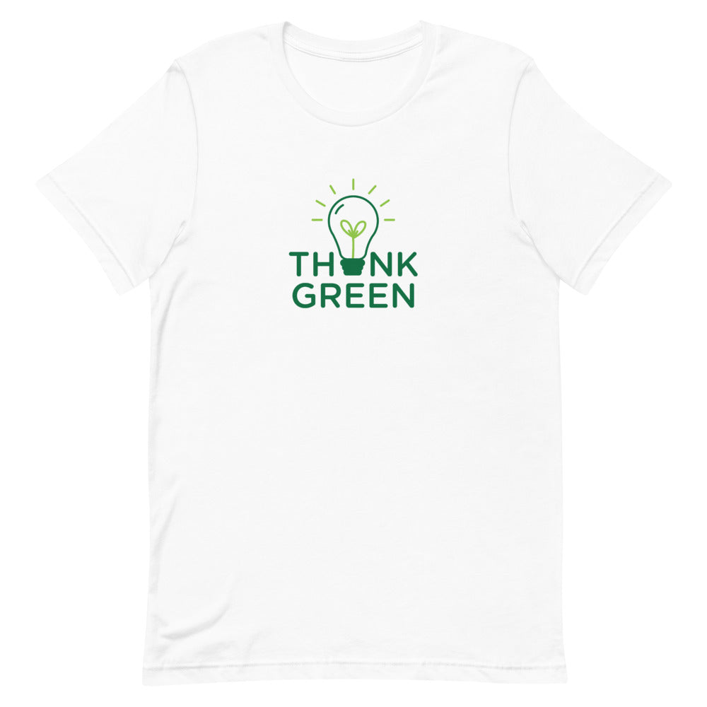 Think Green Short-Sleeve Women's T-Shirt