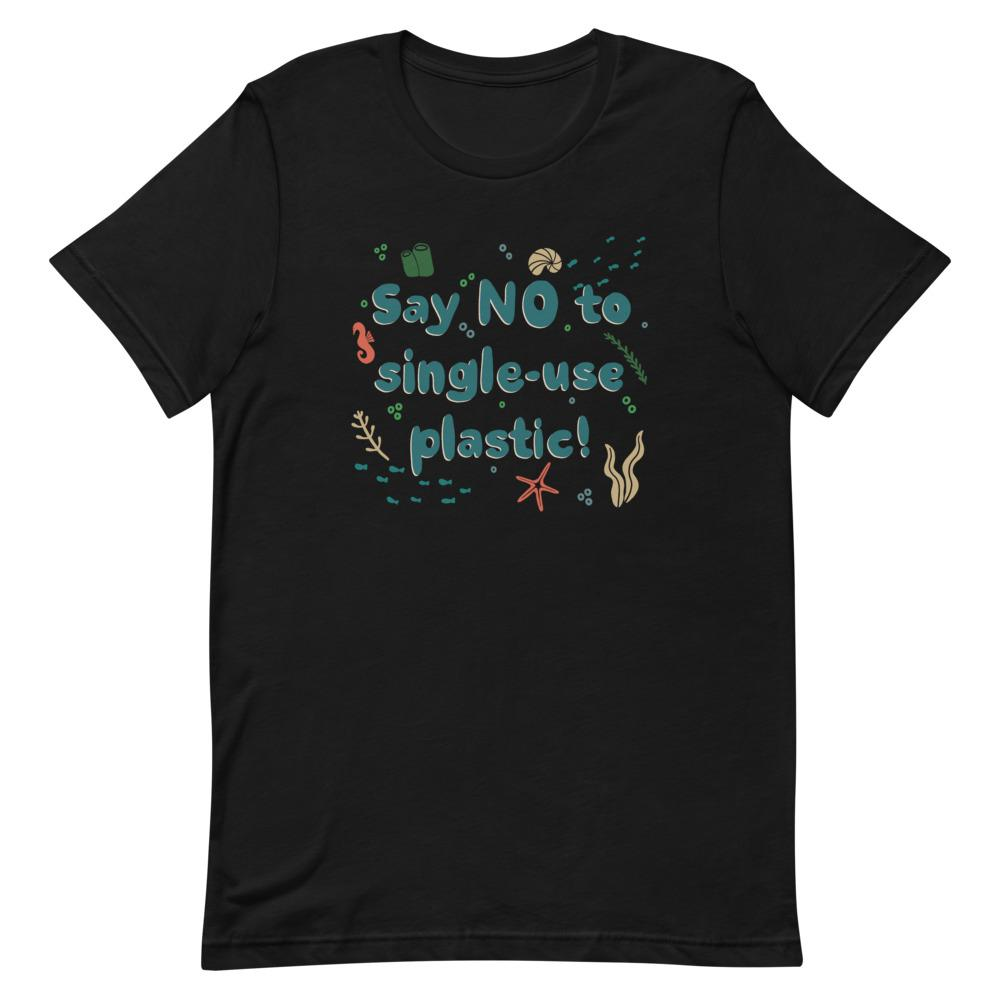 Say NO to single-use plastic! Short-Sleeve Women's T-Shirt