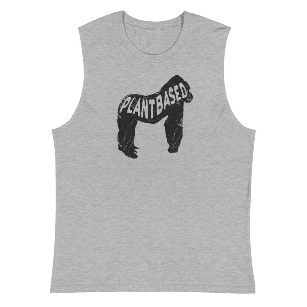 Plant-based Gorilla Women's Muscle Shirt