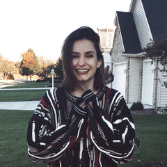 A picture of Megan in her favorite sweater