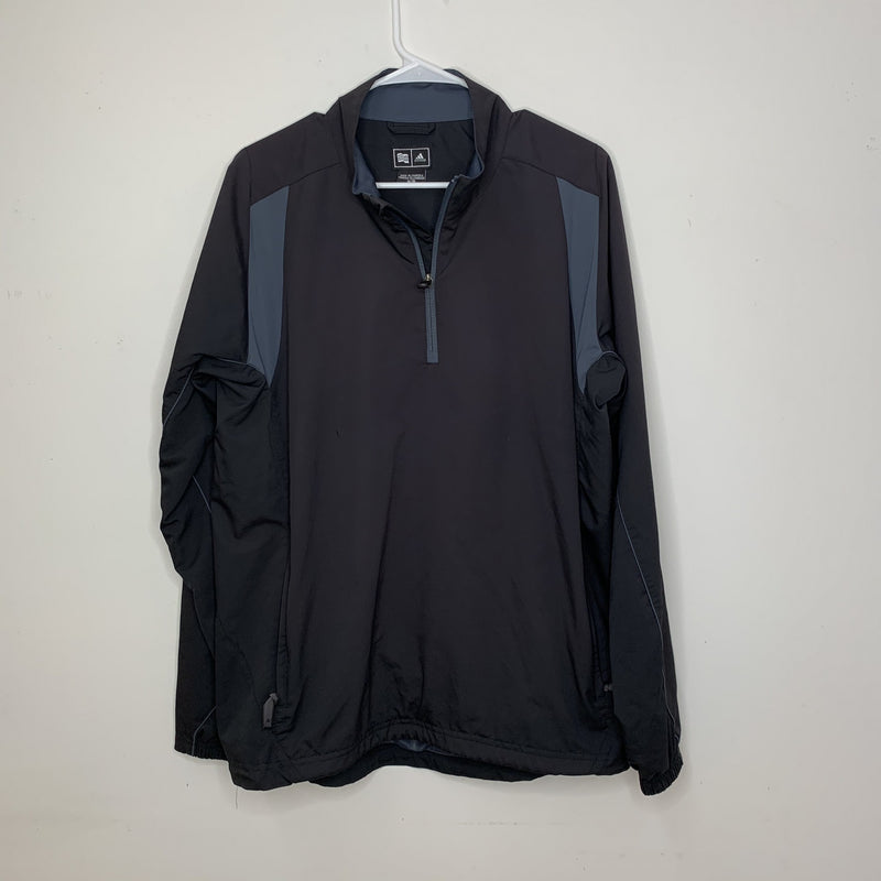 Adidas Mens Climaproof 1/4 Zip Black Medium