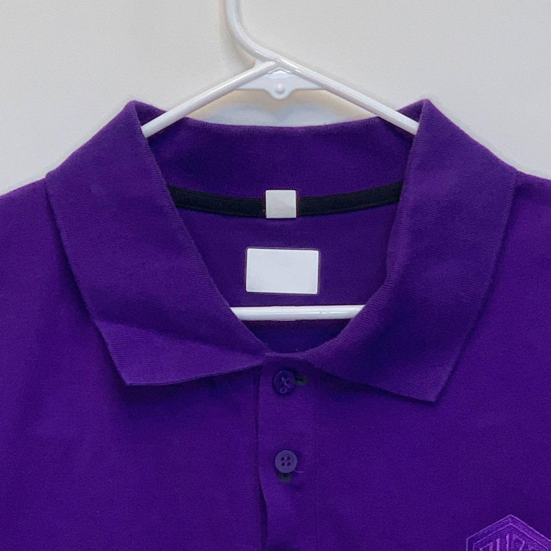 Buzz City Adidas Mens Golf Polo Purple XL