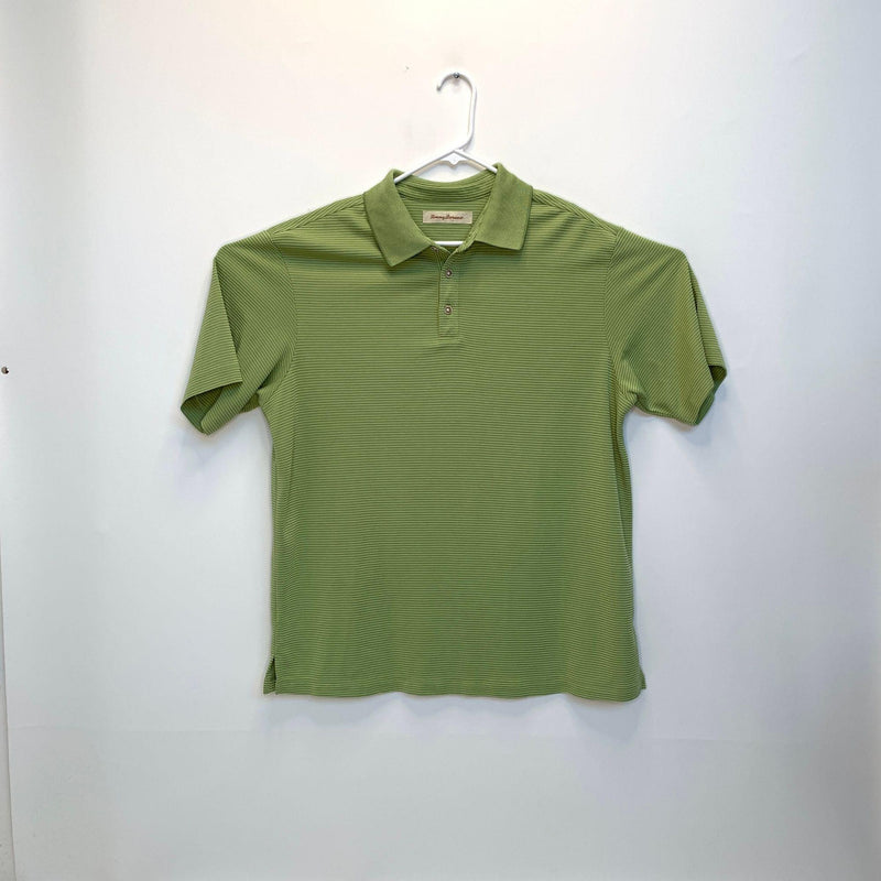 Tommy Bahama Mens Golf Polo Green Large