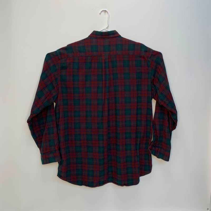 L.L.Bean Mens Flannel Shirt Multicolor Plaid 2XL Tall