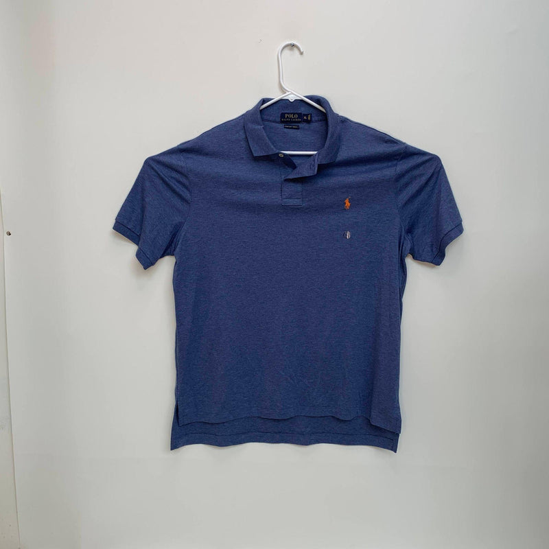 Ralph Lauren Blue Label Mens Golf Polo Blue XL NWOT