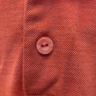 Bugatchi Uomo Mens Golf Polo Orange Medium