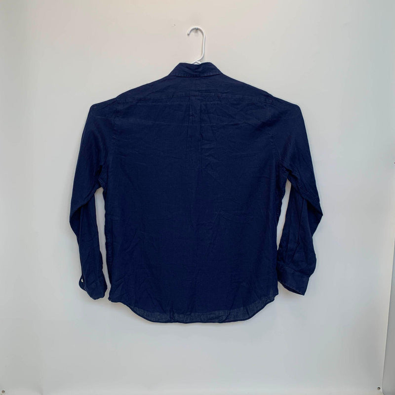 Ralph Lauren Blue Label Mens Designer Shirt Blue XL
