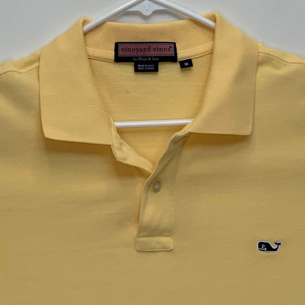 Vineyard Vines Mens Golf Polo Yellow Medium
