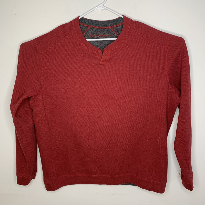 Tommy Bahama Mens Designer Pullover Red XL