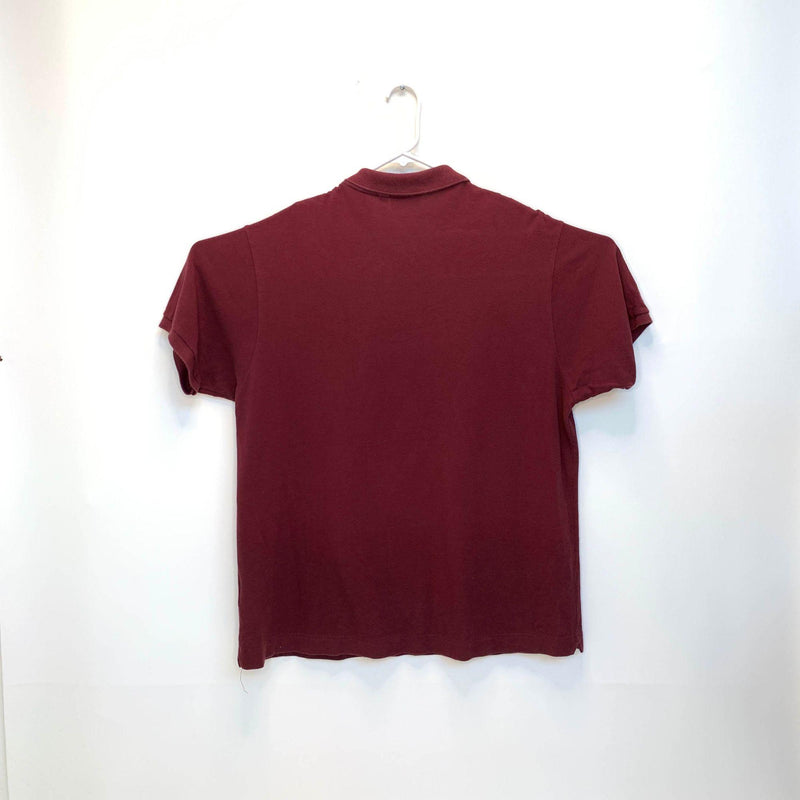 Lacoste Mens Golf Polo Maroon 3XL