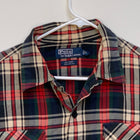 Ralph Lauren Blue Label Mens Plaid Shirt Multicolor Large