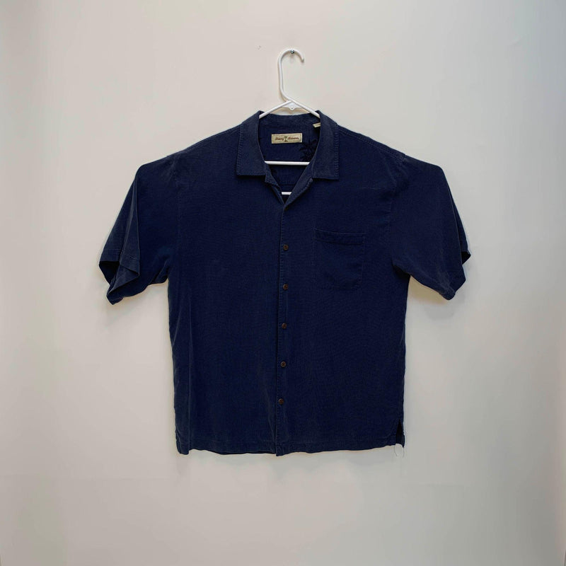 Tommy Bahama Mens Outdoor Shirt Blue Large