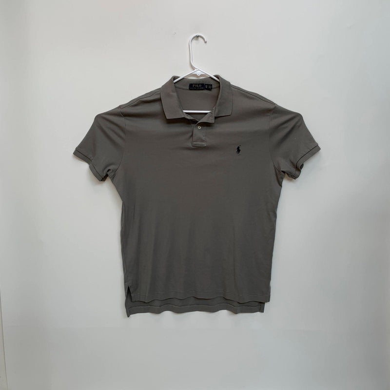 Ralph Lauren Blue Label Mens Golf Polo Taupe XL