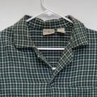 LL Bean Mens Flannel Pajama Top Multicolor Plaid Large