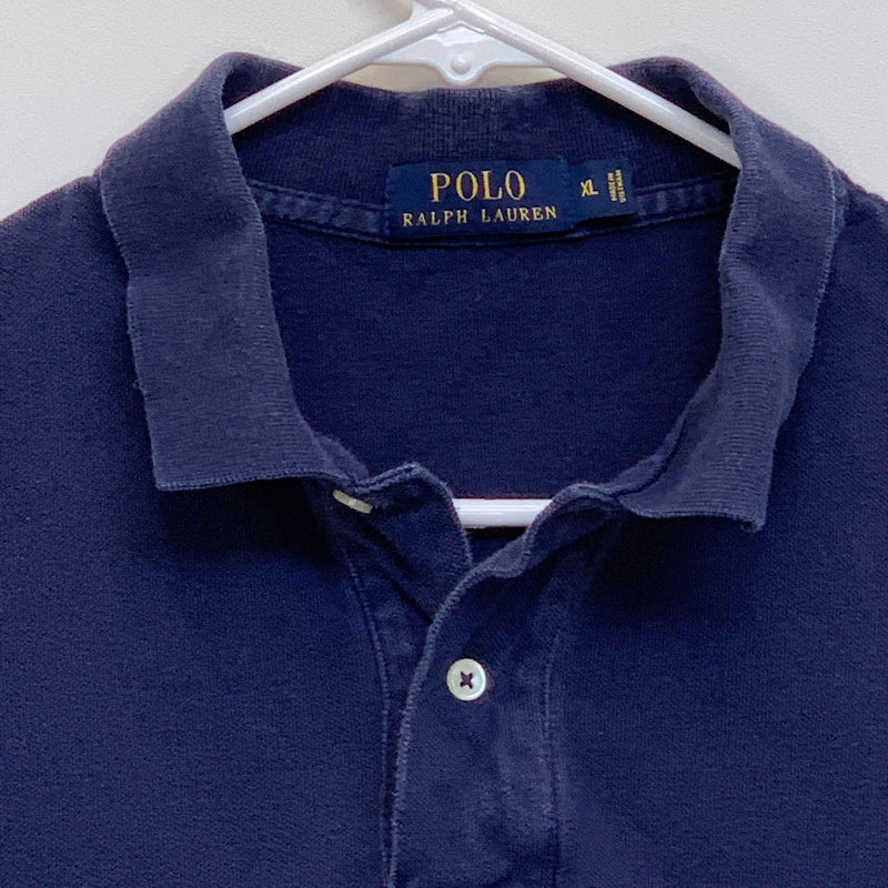 Ralph Lauren Blue Label Mens Golf Polo Blue XL