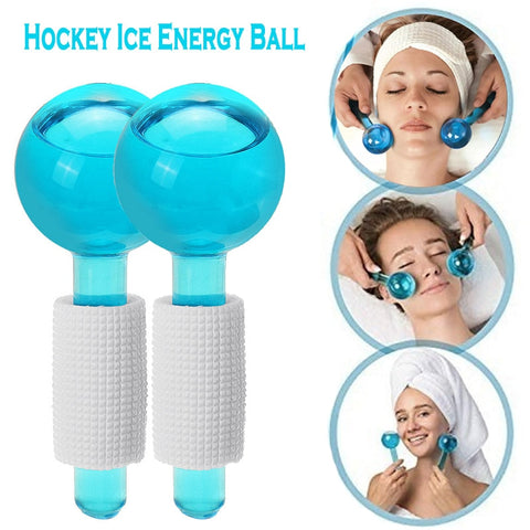 Ice Cooling Globes Facial Massage