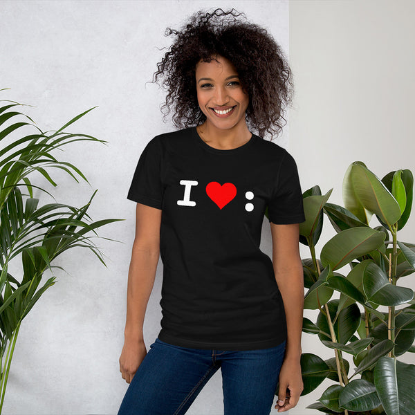 I Love Colons T-Shirt — Unisex