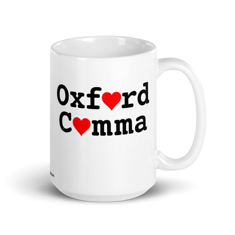 Oxford Comma Mug