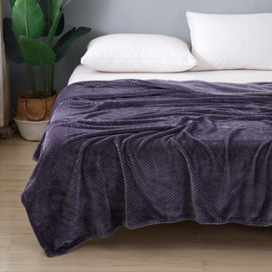 Supersoft Dotted Large Microfibre Blanket