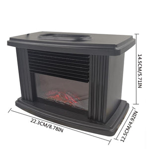 Electric Fireplace / Tabletop Heater (1000 W)