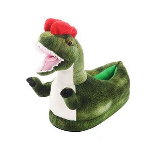 Warm Dinosaur Slippers