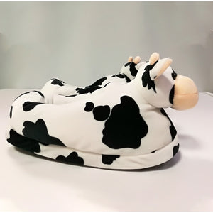 Warm Cow Slippers