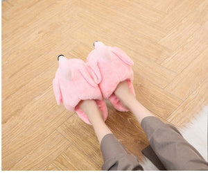 Warm Flamingo Slippers