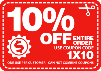 10% Off Order Coupon