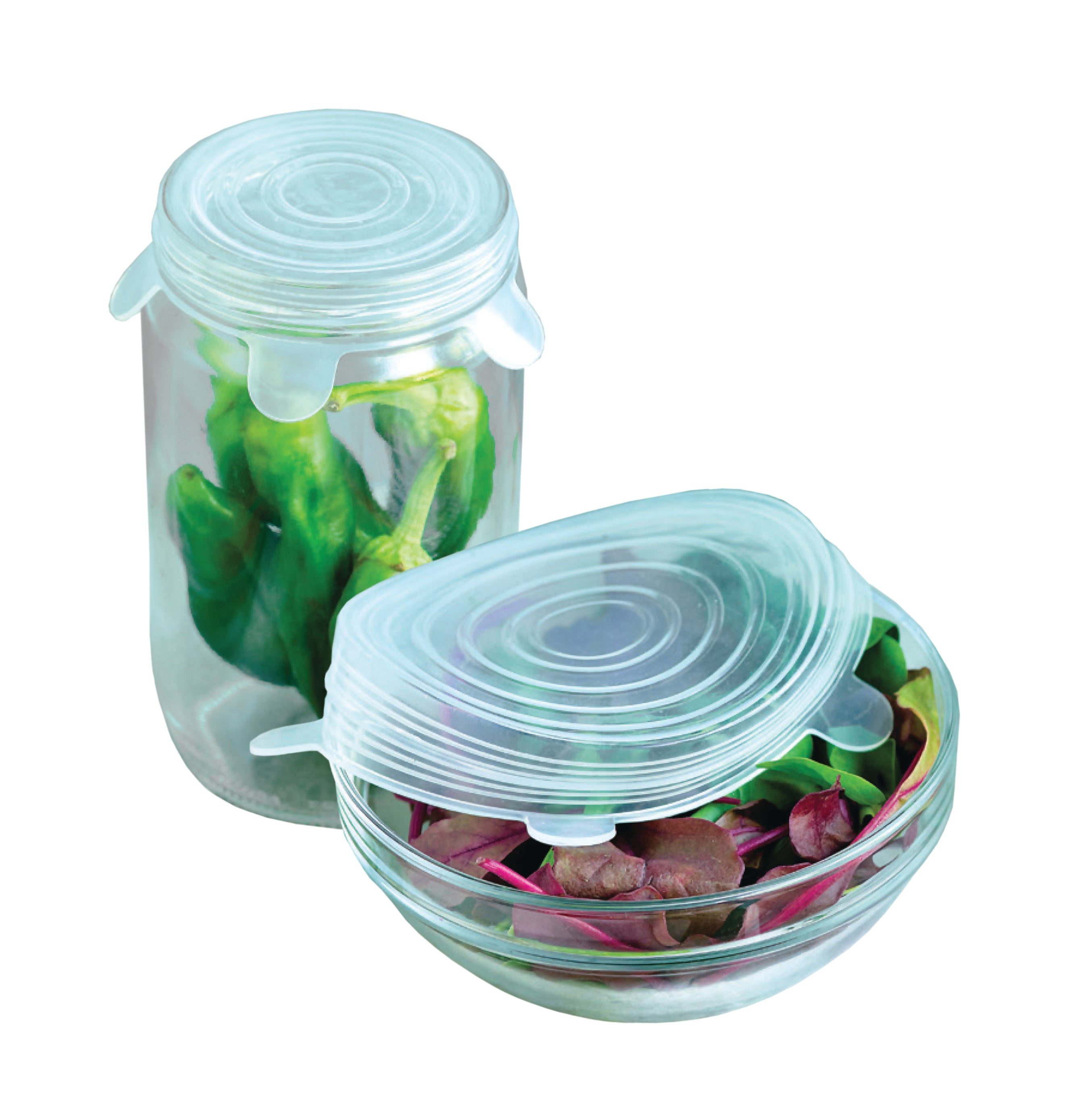 Silicone Flexi Fit Fresh Lids